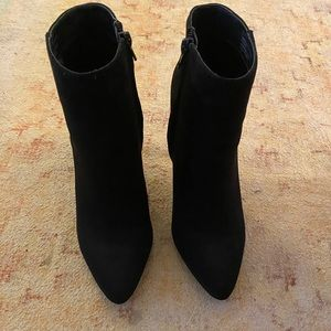 Madden Girl Shoes - Black Madden Girl heeled booties